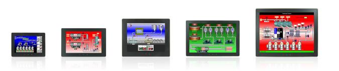 石墨触摸屏HMI操作员界面面板
